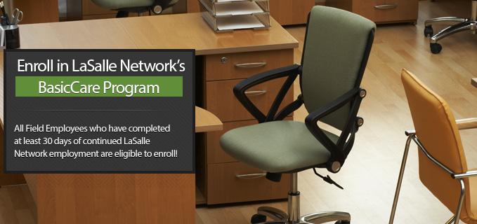 Field Employee Open Enrollment BasicCare Program lasalle network