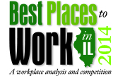 2014 Best Places to Work in IL - lasalle network