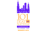 Chicago's 101 Best and Brightest Logo 2014 - lasalle network