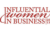 2013 Influential Women in Business - Award Logo