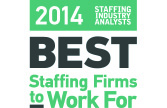 2014 SIA Best Staffing Firms to Work For - lasalle network