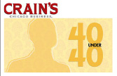 tom gimbel Crain's Chicago Business 40 Under 40 Logo