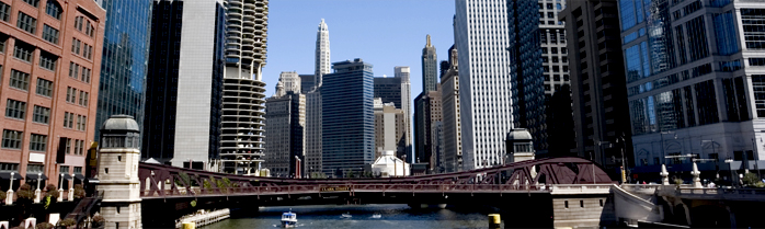 LaSalle Network Chicago River View Header