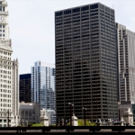 River Chicago View Buildings Skyscrapers city lasalle network