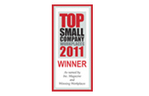 2011 Top Small Company Workplace Winner