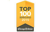 Chicago Tribune Top 100 Workplaces 2015 lasalle network