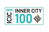 Inner City 100 Logo 2015
