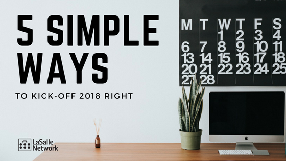 5 Ways to Kick-Off 2018 Right