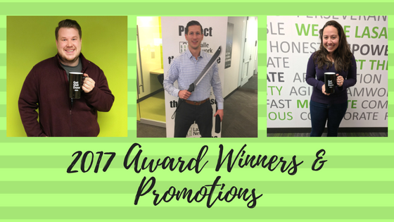 Congrats to our 2017 Award Winners & Promotions (1)